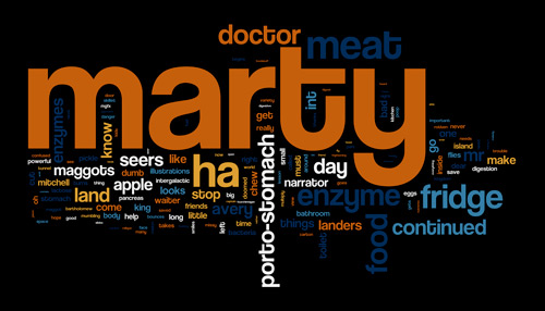 Marty Script Wordle — Click for large version